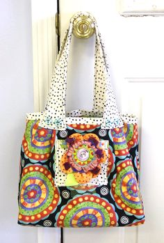 Lottie Dot Bag Sewing Pattern | Jennifer Jangles