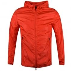 Colmar Originals Red Lightweight Zip Through Hooded Jacket. Available now at www.brother2brother.co.uk