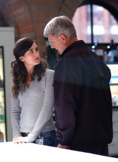 "NCIS - Season 3 Episode 2 - ""Kill Ari: Part 2"" - Gibbs and Ziva, can you feel the father daughter relationship coming up already?"