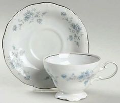 Blue Garland China by Johann Haviland in by QuiltBlocksandMore, $49.98 SOLD