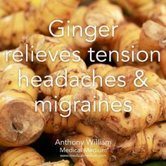 Psoriasis Revolution 7 Days - Ginger relieves migraines AND reduces body fat and aids weight loss. - some unique and rare tips on how to treat psoriasis in as little as 7 days and achieve complete freedom from inflamed itchy skin, silvery scales Natural Headache Remedies, Natural Health Remedies, Natural Cures, Herbal Remedies, Natural Treatments, Natural Healing, Health Facts, Health And Nutrition, Health And Wellness