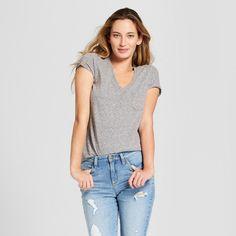 3ed076a978663c Women s Monterey Pocket V-Neck Short Sleeve T-Shirt - Universal Thread™