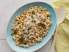 Creamy Chili-Lime Corn. Love the idea of serving this alongside some Tequila-Lime marinated steak fajitas! YUM