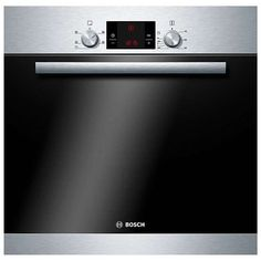 Bosch HBA13B150B Single Electric Oven, Brushed Stainless Steel at John Lewis