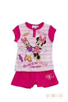 Pyjama Fille Minnie fuchsia http://www.toluki.com/prod.php?id=357 #Toluki #enfant