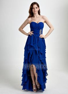 Prom Dresses - $146.99 - A-Line/Princess Sweetheart Asymmetrical Chiffon Prom Dress With Ruffle Beading (018015859) http://jjshouse.com/A-Line-Princess-Sweetheart-Asymmetrical-Chiffon-Prom-Dress-With-Ruffle-Beading-018015859-g15859?ver=1
