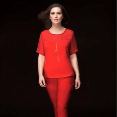 Atrévete por un conjunto rojo Patprimo.   #Patprimo1957 #herenciadecalidad #plussize