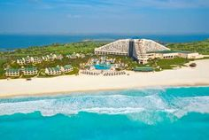 Iberostar Cancun (Boulevard Kukulcan KM.17 Zona Hotelera) Set in Cancún in the Quintana Roo Region, 5 km from La Isla Shopping Mall, Iberostar Cancun features a private beach area and water sports facilities. There is a restaurant and guests can have fun at the water park. #bestworldhotels #travel #mx #cancun