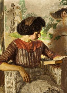 https://flic.kr/p/Pis5DL   Josef Loukota (República Checa, 1879-1967) óleo sobre tela