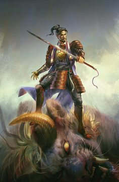 The Swordsman by hubbleTea on DeviantArt
