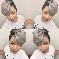 That Cut & Color Tho! @thecutlife - http://community.blackhairinformation.com/hairstyle-gallery/relaxed-hairstyles/cut-color-tho-thecutlife/ #haircut #shorthair #hairstyles