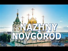 Nizhny Novgorod is a city in the European part of Russia located in the confluence of the Oka and the Volga rivers. The Oka river divides the city into two p. Taj Mahal, Russia, Tourism, History, World, Sports, Youtube, Travel, Turismo