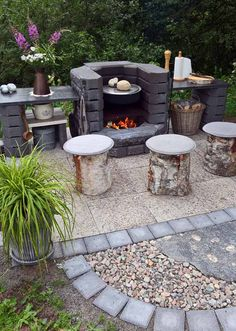 Grillipaikka edullisesti Relaxing Outdoor Kitchen Ideas for Happy Cooking & Live ., Grillipaikka edullisesti Relaxing Outdoor Kitchen Ideas for Happy Cooking & Lively Party When age-old throughout strategy, a pergola may be enduring. Pergola Patio, Backyard Patio, Backyard Landscaping, Backyard Ideas, Backyard Seating, Patio Ideas, Garden Bbq Ideas, Firepit Ideas, Rustic Backyard