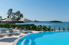 Campsite Amarin, Rovinj,  located along the beach, 4km north of Rovinj, overlooking the old town. Famous for its rich offer of leisure and sports activities, it is the ideal place for an active family vacation, recreation and entertainment.