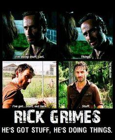 In honour of the walking dead season 4 starting....Mr Grimes