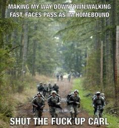LOL there's always a Carl in every group.