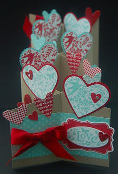 Julie's Japes - An Independent Stampin' Up! Demonstrator in the UK: You Are Loved Cascading Card