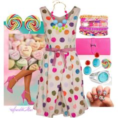 """""""Something Sweet"""" by sparklemar on Polyvore"""