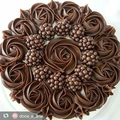 This amazing Chocolate Italian Cream Cake is the best! Wonderful flavor from chocolate and pecans, and frosted in a delicious chocolate cram cheese frosting! Chocolate Italian Cream Cake Recipe, Italian Cream Cakes, Delicious Chocolate, Food Cakes, Cupcake Cakes, Cupcakes, Cake Icing, Buttercream Cake, Chocolate Cake Designs