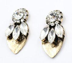 Futuristic Stud - Earrings