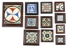Antique Tiles, Gallery Wall, Antiques, Frame, Home Decor, Tiles, Homemade Home Decor, Antiquities, A Frame