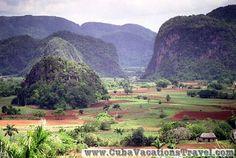 Landscape of Vinales, Viñales. Pinar del Rio
