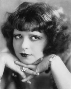 Clara Bow, a twenties girl