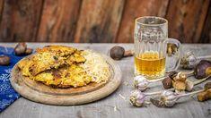 Ještě lepší bramboráky? Jedině s houbami! Usmažte si tuhle dobrotu i vy - Proženy Hummus, Camembert Cheese, Ethnic Recipes, Food, Essen, Meals, Yemek, Eten