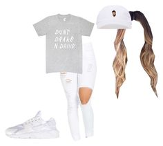 """Untitled #57"" by justice-idds ❤ liked on Polyvore featuring NIKE"