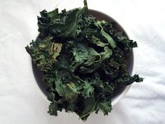 Receta: chips de kale