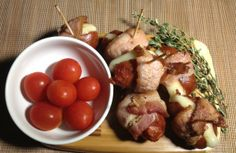 Acid Reflux Diet Recipes - Bacon-wrapped Sweet Longganiza - http://acidrefluxrecipes.com/acid-reflux-diet-recipes-bacon-wrapped-sweet-longganiza/