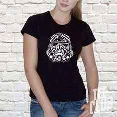 Check out this item in my Etsy shop https://www.etsy.com/uk/listing/274761042/ladies-tribal-storm-trooper-shirt-star