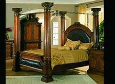4 Poster Beds Poster Beds And Bedroom Furniture On Pinterest