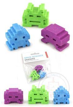 Goma de space invaders | La Guarida Geek