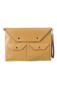 b1895252bc5f Concise Style Envelope Bag with Pouch Pockets - OASAP.com