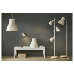 IKEA - HEKTAR Pendant lamp white