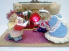 Vintage Hallmark Christmas Ornament Set The by RaeOfLight on Etsy, $24.95
