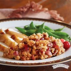 ...   Cranberry stuffing, Thanksgiving side dishes and Apple stuffing