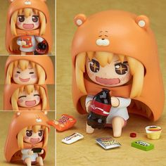 Japan Anime Nendoroid Himouto Umaru Action Figure