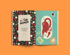 Four Winds Restaurant Restaurant Menu Design, Chinese Restaurant, Working On Myself, New Work, Behance, Gallery, Check, Illustration