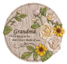 Buy New Creative Commemorative, Indoor/Outdoor, Mom Not a Day Goes by Memorial Garden Stone at Discounted Prices ✓ FREE DELIVERY possible on eligible purchases. Lawn And Garden, Garden Art, Garden Ideas, Pond Ideas, Garden Inspiration, Memorial Garden Stones, Memorial Flowers, Decorative Stepping Stones, Mother Day Message