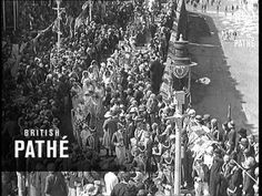 #Scarborough, North Yorkshire - Yorkshire's Rose Queen Crowned (1931) #British_Pathe #Yorkshire