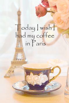#autumn #coffee #Paris #wish