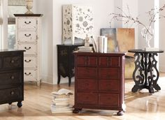 Choose from a selection of dressers, tables, cabinets and sideboards to suite your style. Steinworld.com