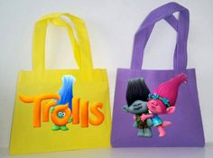Trolls Party Favors, 10 Trolls Favor Bags, Trolls Party Favor Bags, Candy Bags… More