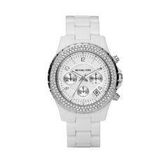 Michael Kors White Watch