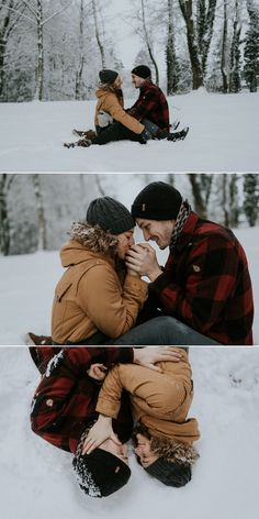 Winter Couple Pictures, Winter Engagement Pictures, Winter Family Photos, Winter Pictures, Snow Family Pictures, Winter Family Photography, Snow Photography, Couple Photography Poses, Couple Photoshoot Poses