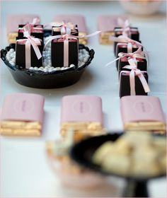 REAL PARTIES: Coco Chanel-Inspired Bridal Shower // Hostess with the Mostess®