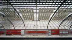Hauptbahnhof Berlin-gmp Architekten von Gerkan, Marg und Partner