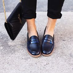 Pennyloafers+zu+Jeans